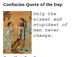 Confucius Daily Quotes